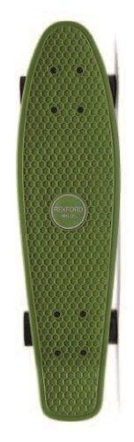 Rexford Plastic Skateboard, Army Green