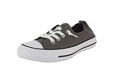 Converse Womens Chuck Taylor Shoreline Slip On Fashion Sneaker (5 (WOMEN) US, CHARCOAL)