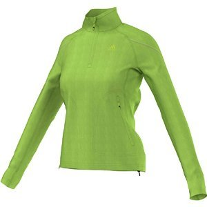 Price comparison product image adidas Outdoor Women's Hiking Reachout Pull Over Fleece,  Semi Solar Green