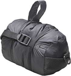 -00 Water Resistant Motorcyle Cover/Clothing Compression Bag, Black, Small ()
