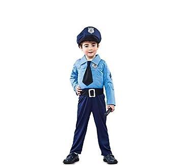 Disfraz de policía infantil T00: Amazon.es: Juguetes y juegos