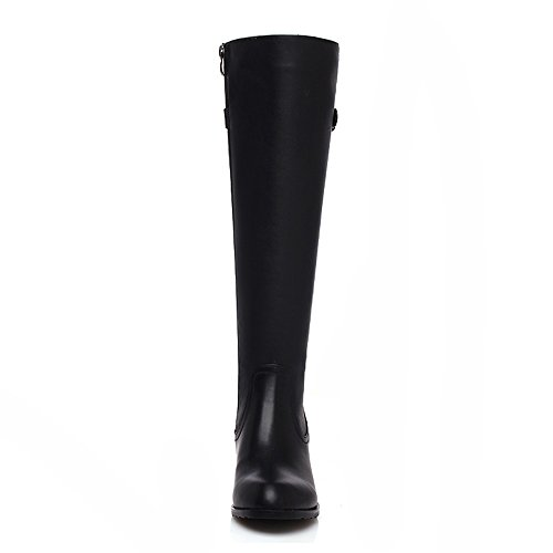 boots Black Donna high Sevenknee Stivali Nine YF76x6