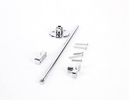 """12/"""" Solid steel construction Adjustable Fisher 2902-12 Wall Bracket with Rod"""