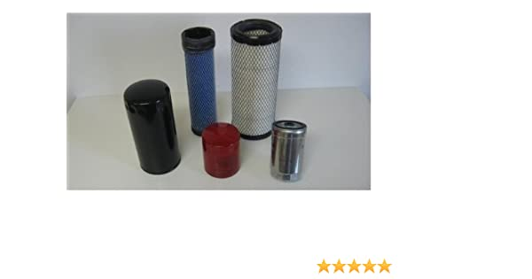 Mahindra Filter Pack Of 5 Filters For 3825, 4025, 4525