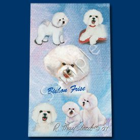(Bichon Frise Roller Ball Pen Designer Ruth Maystead)