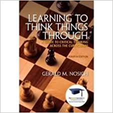 gerald m nosich critical thinking
