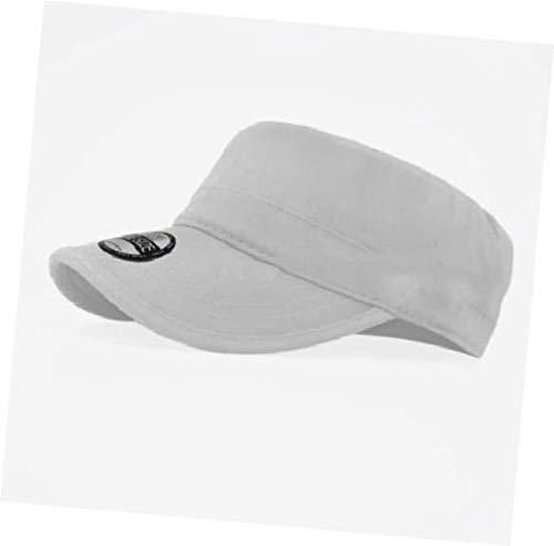 Hat Army White, Military Hat Army Cadet Patrol Castro Cap Men Women Golf Baseball Summer Castro