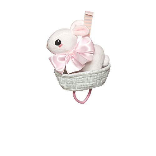 Manhattan Toy Lullaby Bunny Pull Musical Crib and Baby Toy -  216640
