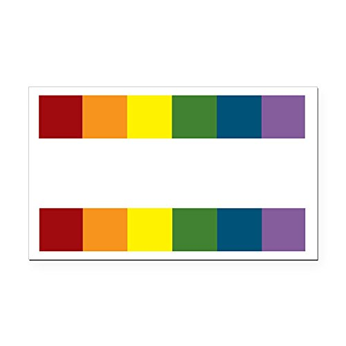 CafePress - LGBT Equality_Dark Rectangle Car Magnet - Rectangle Car Magnet, Magnetic Bumper Sticker (Best Marriage Equality Signs)