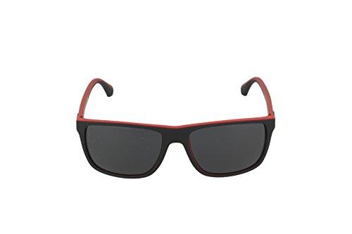 4033 Noir Red Black Mod Lunette Grey Jeans de Armani Homme soleil q0BXAAw