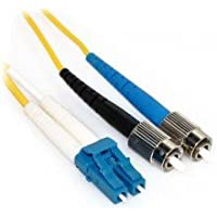 9m LC/FC Duplex 9/125 Single Mode Fiber Patch Cable by LinkCable