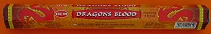 Hem Dragons Blood Incense Sticks (6 Packets Of 20 Sticks Each) HEM_Dragons Blood