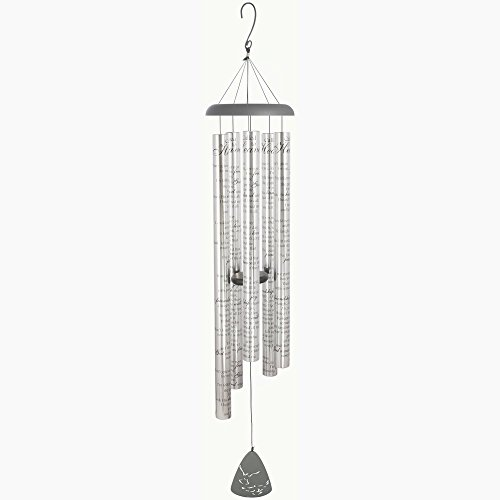"CARSON Sonnet Wind Chime, Called to Heaven, 55"" Long"