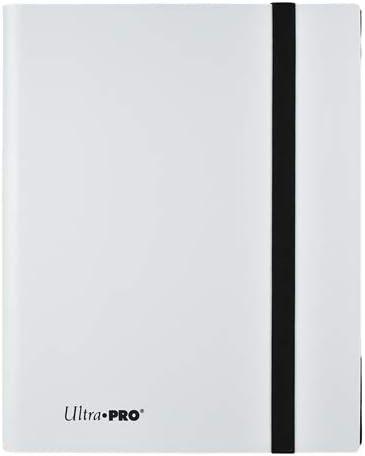 Ultra Pro E-15220 Eclipse 9-Pocket PRO-Binder-Arctic White