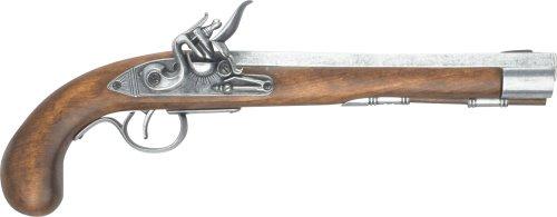 Denix Deluxe Kentucky Flintlock Pistol, - Rifle Flintlock
