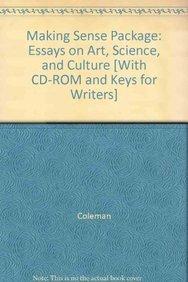 Read Online Making Sense 2nd Ed + Keys for Writers + Helpdesk Cd 4th Ed pdf epub