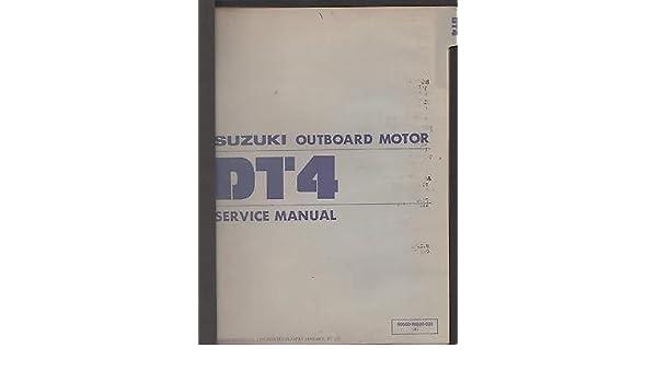 suzuki dt4 manual