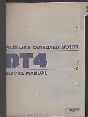 Suzuki boat motor manual | Suzuki Outboard Marine Service and Repair