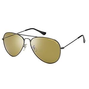 Eagle Eyes Oversized Aviator Sunglasses - Classic Polarized Aviator Sunglasses