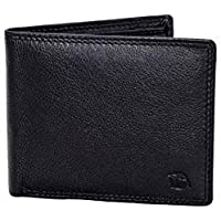 Flying Fossil Genuine Leather Hand-Crafted Bifold Wallet, Ultra Slim Wallet with 8 Card Slots, Coin pocket and 2…