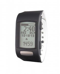 LifeTrak Core C200 24-hour Heart Rate Watch, Black/White