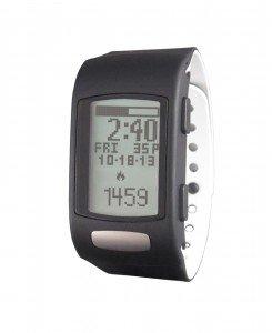 LifeTrak Core C200 24-hour Heart Rate Watch, Black/White