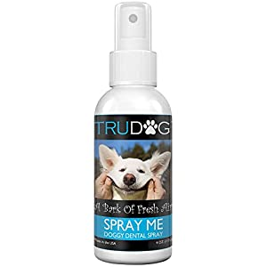 Dog Breath Freshener – Spray Me: Doggy Dental Spray (4Oz) – All Natural Ingredients That Freshen Breath While Reducing Dental Plaque And Tartar Build-Up Without Brushing – Veterinarian Approved