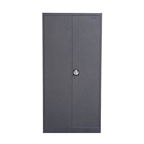 2 Door Metal Closet - Bedroom Metal Armoire