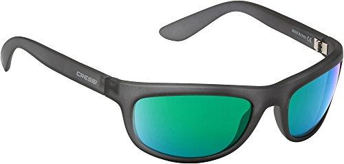100 Gris Anti Reflejado Cressi Deportivas Sol de Verde Cristales Gafas Polarizados Adulto UV para 7P7zn48xU