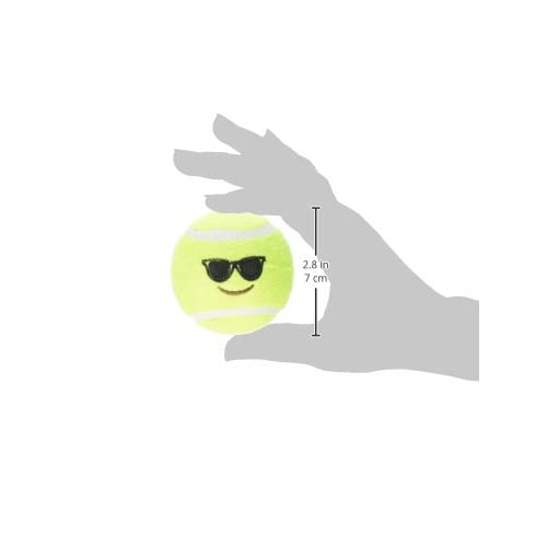 Outlet Ethical Pets Emoji Tennis Ball Dog Toy 6 Pack Buzcorhvac Com