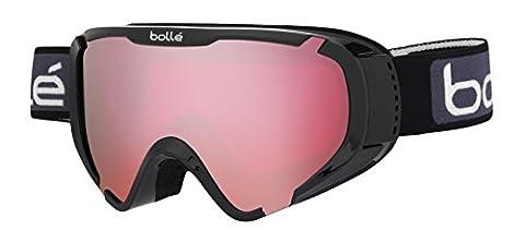 Bolle Explorer OTG Goggles, Shiny Black, Vermillion Lens