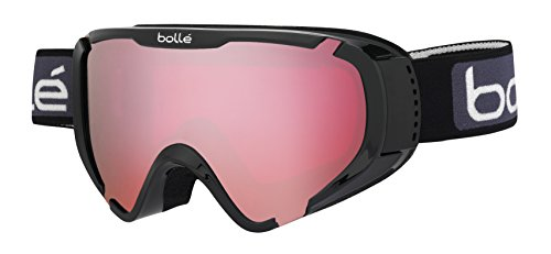 - Bolle Explorer OTG Goggles, Shiny Black, Vermillion Lens