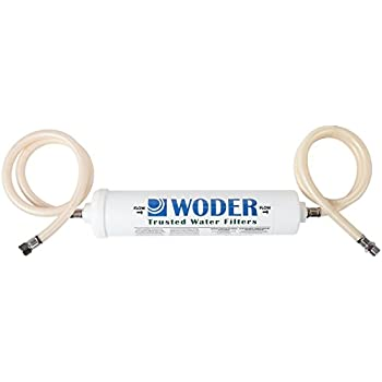 Woder 10K Ultra High Capacity Direct Connect Water Filtration System — Under Sink, Premium Class 1. Removes 99.99% of Contaminants for Safe, Fresh and Crisp Water, USA-Made