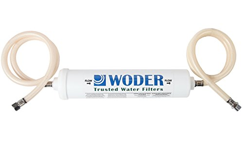 Woder 10K Ultra High Capacity Direct Connect Water Filtration System — Under Sink, Premium Class 1. Removes 99.99% of Contaminants for Safe, Fresh and Crisp Water, USA-Made by Woder
