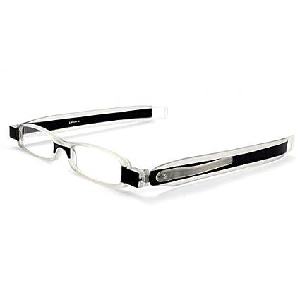 55a9c463ffa Dr. Harmann s Library 1 TR90 180° Slim Twist Reading Eyeglasses With  Pen-Clip (+1.00