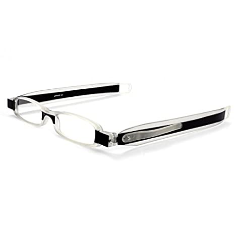 4aefaf94e66 Dr. Harmann s Library 1 TR90 180° Slim Twist Reading Eyeglasses With  Pen-Clip (+3.00