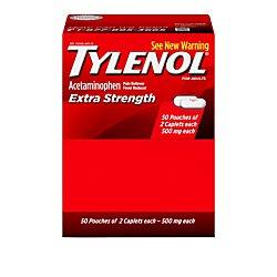 Tylenol Extra Strength Caplets, Fever Reducer and Pain Relie