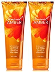 - Bath and Body Works Sensual Amber Triple Moisture Body Cream 8 oz - 2 Pack