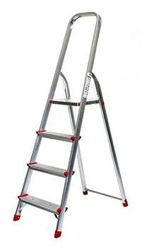 Alu Stehleiter ECO Serie - 6 Grö ß en wä hlbar (3 bis 8-stufig), 6-stufig Floordirekt