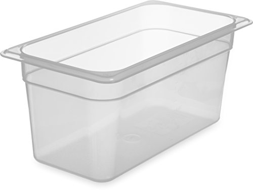 [Carlisle 7066230 StorPlus Third Size Polypropylene Food Pan, 6