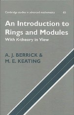 rings and modules - 7