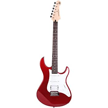 Electric Guitar Lead Amazon : yamaha pac012 red metallic 6 string electric guitar musical instruments ~ Vivirlamusica.com Haus und Dekorationen