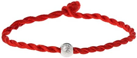 UNWSTYU Damen-Armband, Kabbala, rotes Seil, Armbänder, Glücksbringer, Amulett, buddhistisch, Modeschmuck
