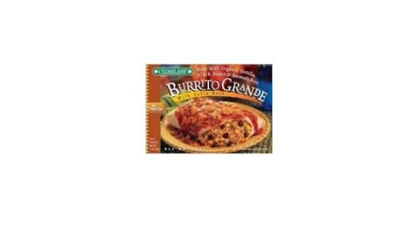 Amazon.com : Cedarlane Burrito Grande Salsa Roja, 10-Ounce Packages (Pack of 12) : Grocery & Gourmet Food