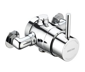 Bristan Prism Thermostatic Single Control Surface Mounted Shower