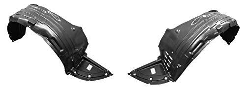 Driver Passenger Side Fender - Parts N Go 2009-2014 Maxima Fender Liner Pair Driver & Passenger Side Splash Guard Nissan - NI1249119, NI1248119, 63842ZX70A, 63843ZX70A