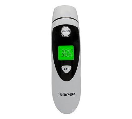 Jumper Medical - JPD-FR401 Termómetro digital infrarrojo IR modo dual para frente-oído