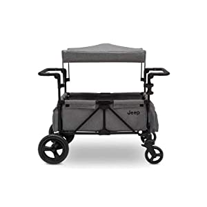 Jeep-Wrangler-Stroller-Wagon-with-Included-Car-Seat-Adapter-by-Delta-Children-Gray