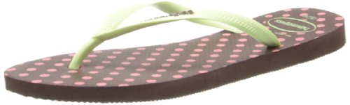 Havaianas - Sandalias de vestir para mujer Marrón Brown (Dark Brown