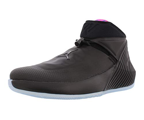 NIKE Jordan Men's Why Not Zer0.1 Basketball Shoes (10.5, Black/Pink)